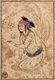 Riza Abbasi, Riza yi-Abbasi or Reza-e Abbasi, also Aqa Riza or Āqā Riżā Kāshānī (c. 1565–1635) was the leading Persian miniaturist of the Isfahan School during the later Safavid period, spending most of his career working for Shah Abbas I (r.1587-1629). He is considered to be the last great master of the Persian miniature, best known for his single miniatures for muraqqa or albums, especially single figures of beautiful youths.